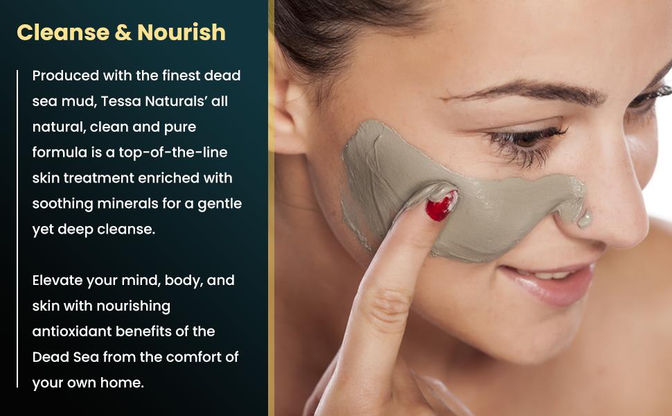 best cleanse nourish mud mask
