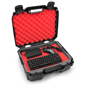 mouse keyboard headphones electronics carrying case for laptop gamer gaming