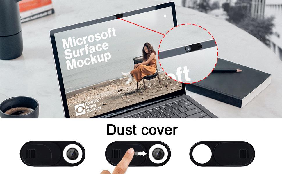 Webcam Cover,Laptop Camera Cover Slide,Camera Cover Slide