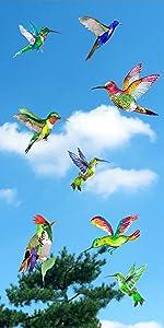 Hummingbird Window Clings
