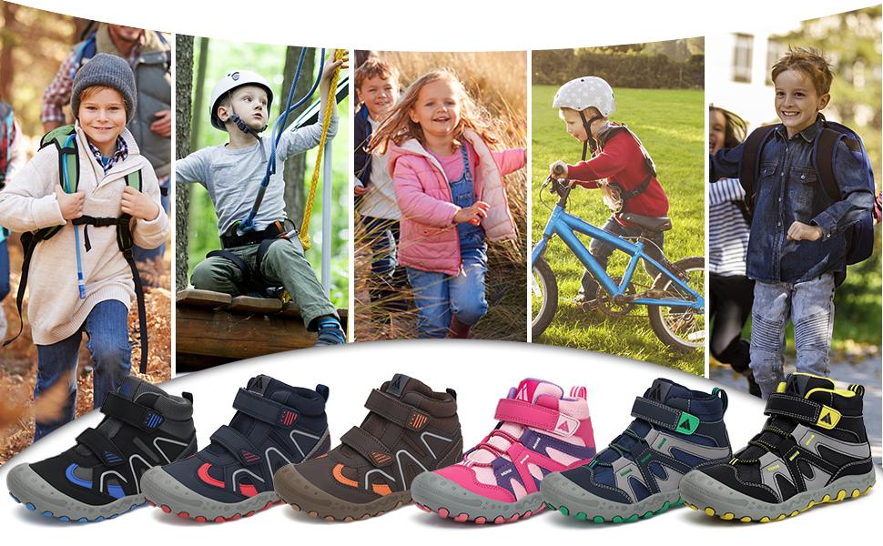 zapatos trekking niños