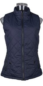 Blue Women Vest