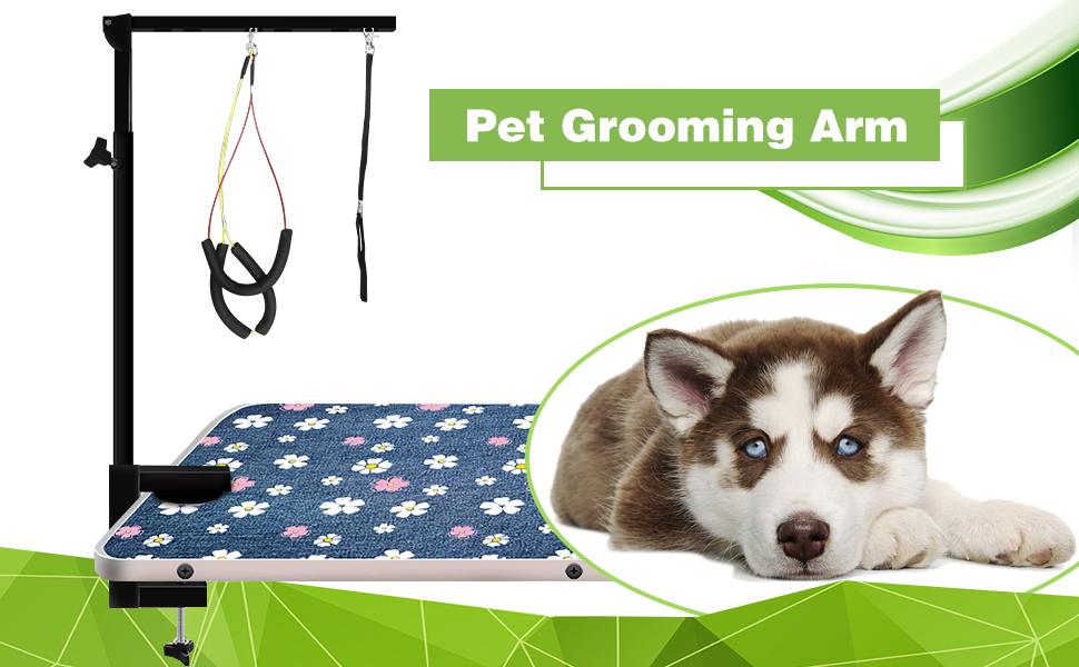 pet grooming arms