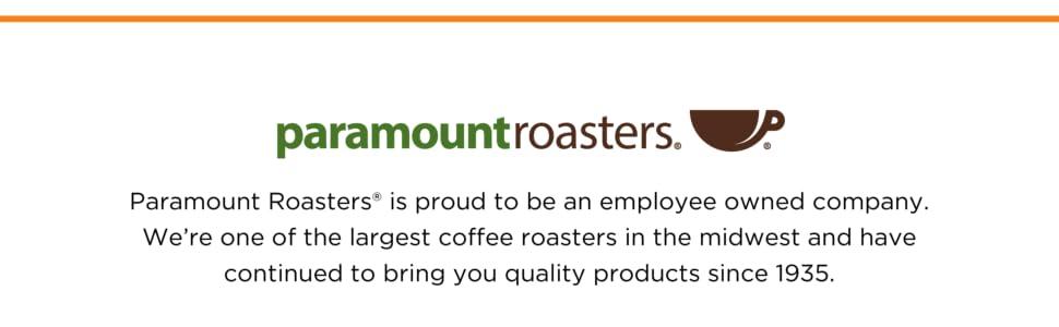 Paramount Roasters, Joe Knows Coffee, Coffee, Coffee Roaster, Michigan coffee roaster