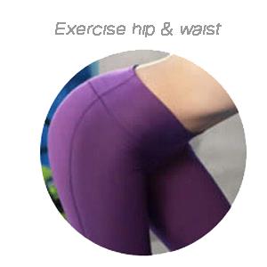 exercise hip amp; waist
