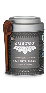 mt mount kenya black loose leaf organic fair trade tea