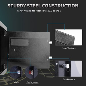 sturdy steel constuct
