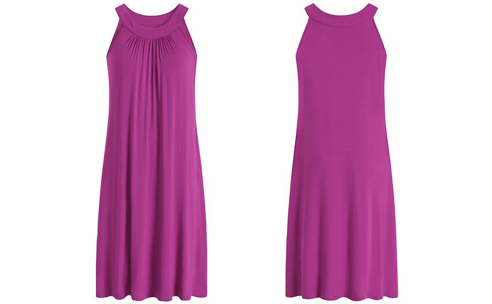 long nighty sleeveless ladies nightgowns womens sleeping dress modest sleepwear summer loungewear