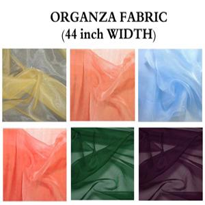 organza fabric by yard