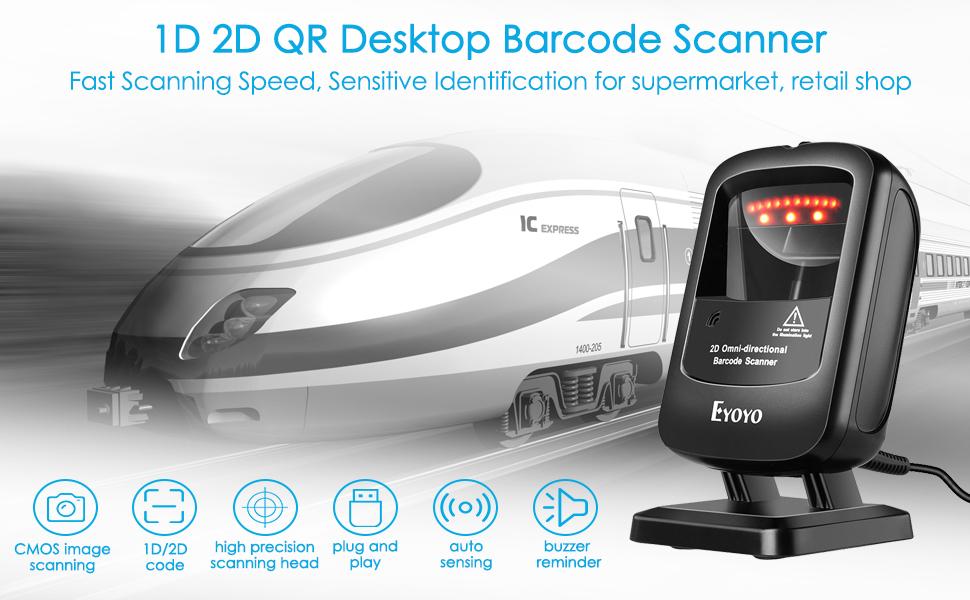 desktop barcode scanner