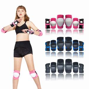 pink blue black protective set