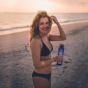 Sport Water Bottle Leak Proof