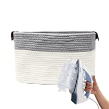 storage basket rope baskets for organizing rectangle basket medium woven basket for storage bins