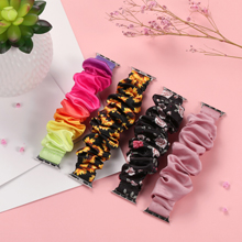 Muranne trendy durable scrunchie wristband is made from high quality fabric cloth material