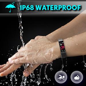 fitnees tracker watch for women men healthy watch for women men IP68 waterproof