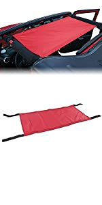 New Style Red Car Roof Top Bed Hammock Car Bed Rest for Jeep Wrangler 2007-2021