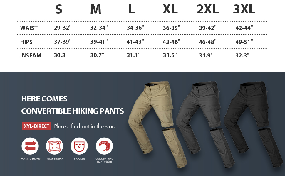 quick dry hiking pants