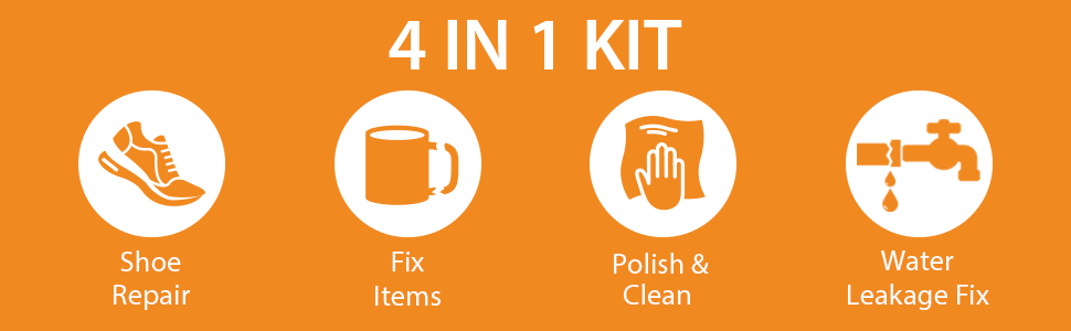 All in 1 kit for household fix