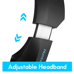 adjustable over-ear headset