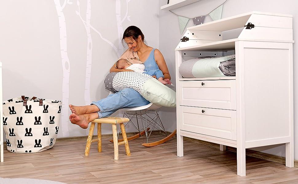 Ullenboom-baby-brand-cotton-nursing-breastfeeding-pillow
