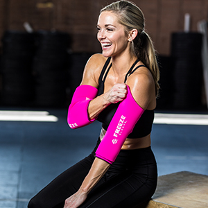 Freeze Sleeve, Apply, Skin, Contact, Sting Free, No Burn, Cold, Compression, Therapy