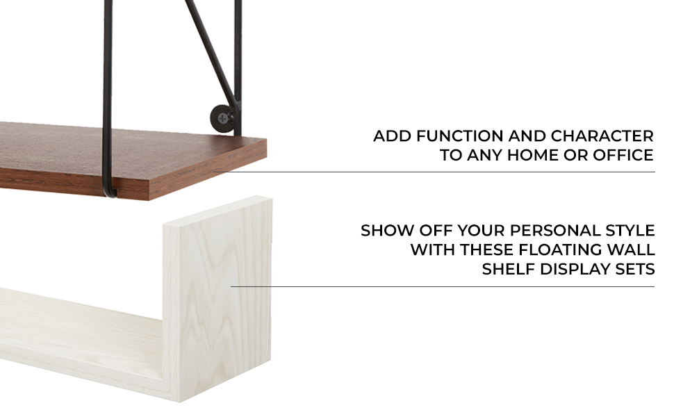 shelves are a fantastic way to keep your home organized