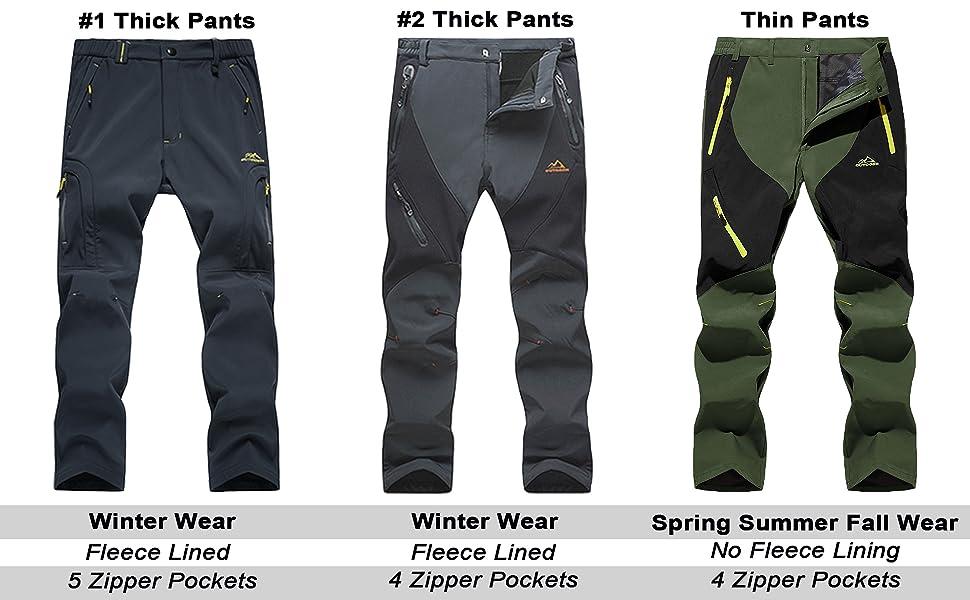 winter pants for men