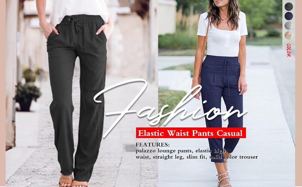 fashion casual pants