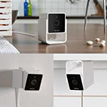 Multiply pet cameras mounted