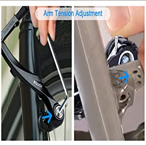 Adjust Brake Arm Tension