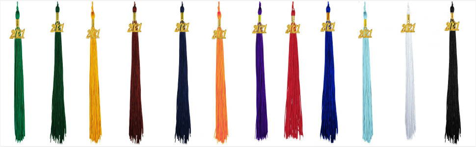 graduation tassel single color 2021
