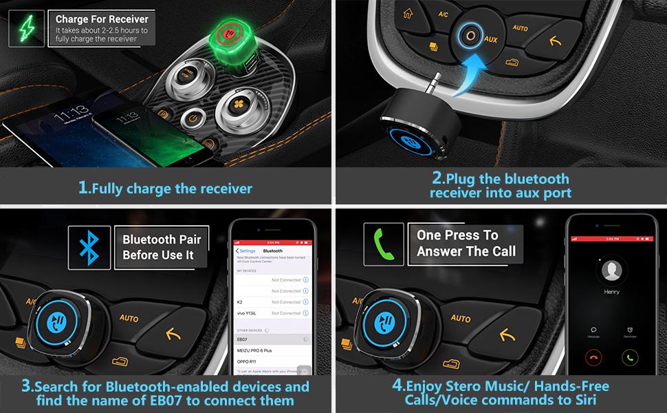 bluetooth receiver for car