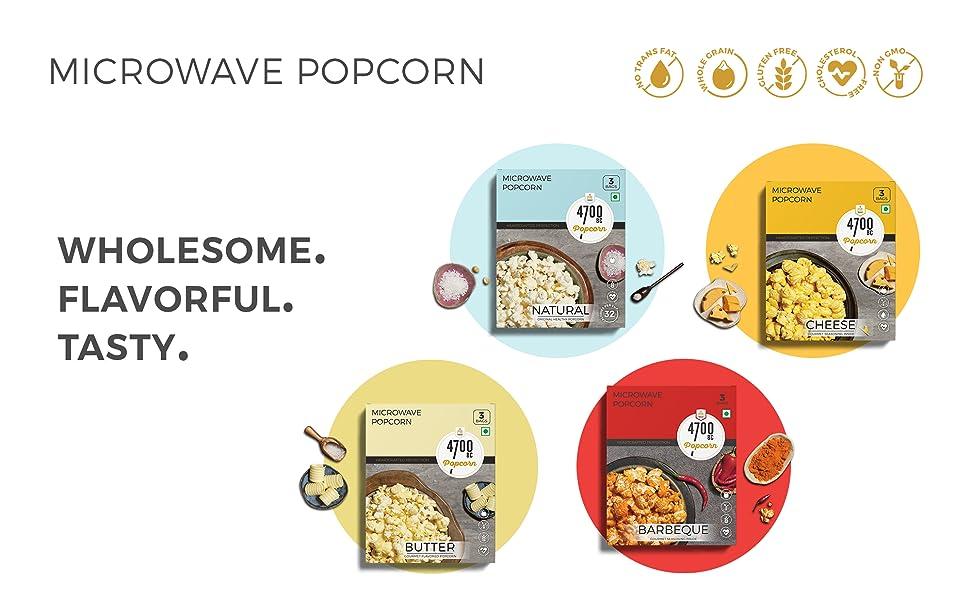 healthy popcorn quick instant
