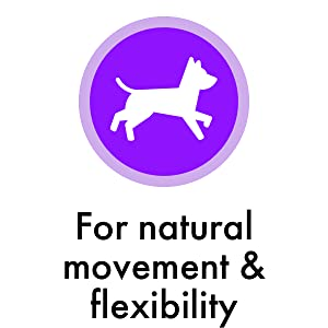 For natural movement amp; flexibility
