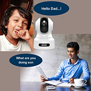 D3D 826 Home Security AI Smart IP Camera Two Way Audio