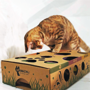 interactive cat toy for adult cats kittens indoor activity enrichment treat puzzle feeder for cats