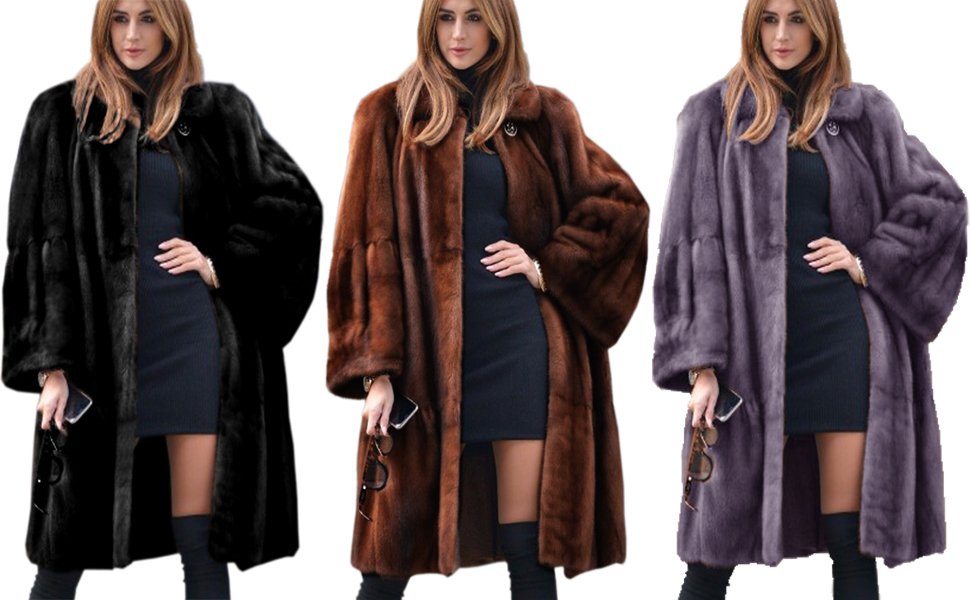 Faux Fur Overcoat