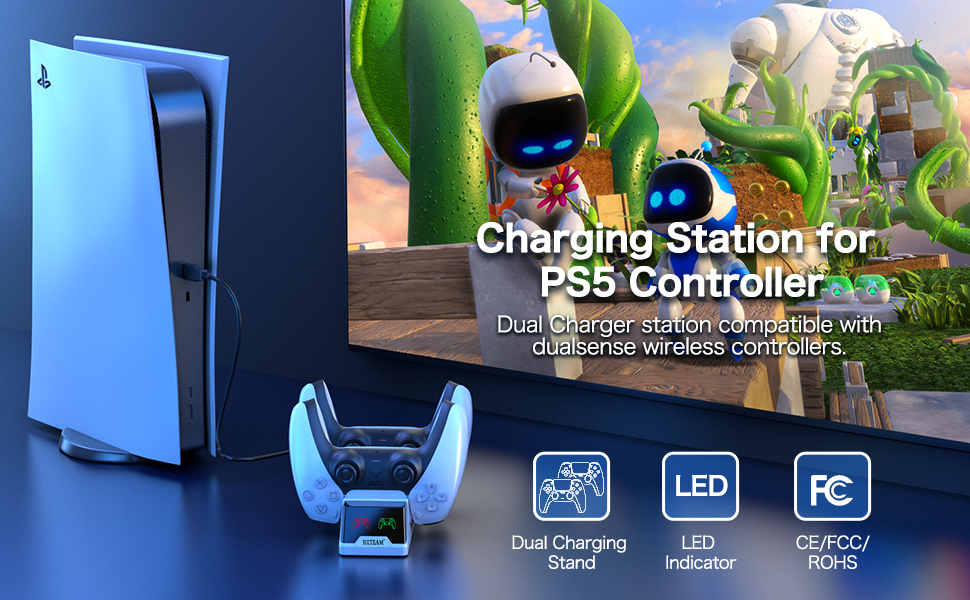 Charging Station for PS5 Controller