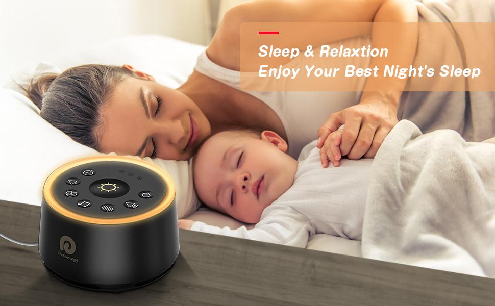 white noise maker sleep machine