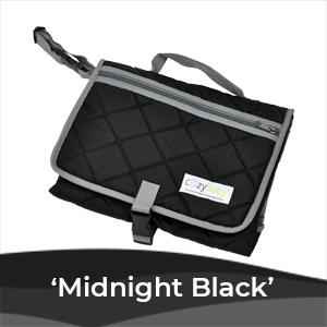 baby changing pad black