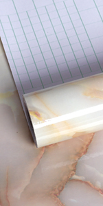 yellow marble contact paper