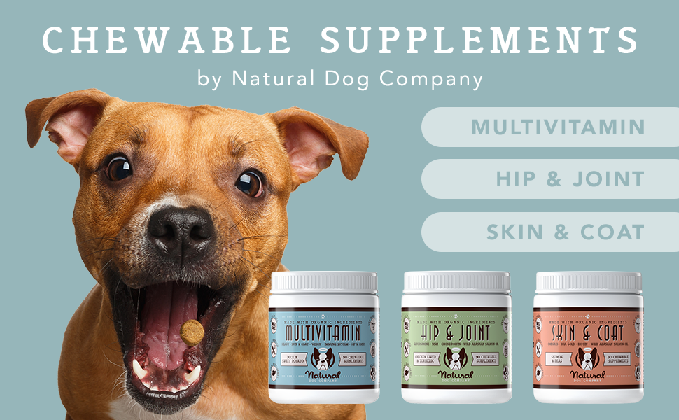 natural dog company supplements