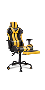 Gaming Chair,Large Size Ergonomic PC Game Computer Chair
