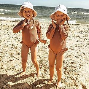 baby girl bathing suit long sleeve