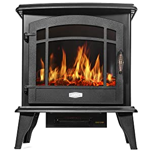 electric fireplace insert heater and tv stand accessories mantel alexa compatible black bookshelf