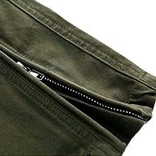 Zipper at Hem