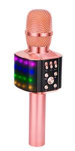 Q36 ROSE GOLD MICROPHONE