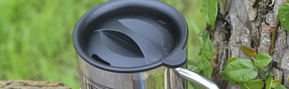 As an outdoor use, we always think that it needs a lid, safety - drinks will not spill,