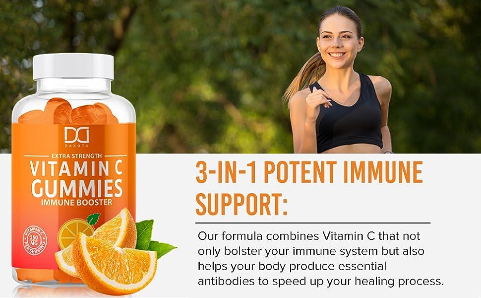 FLU, ALLERGY & COLD SEASON SUPPORT vit c gummies gummy bitamin vitamins vitamin viatim
