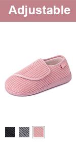 LongBay Women's Adjustable Slippers